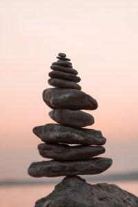 balance, peace with food