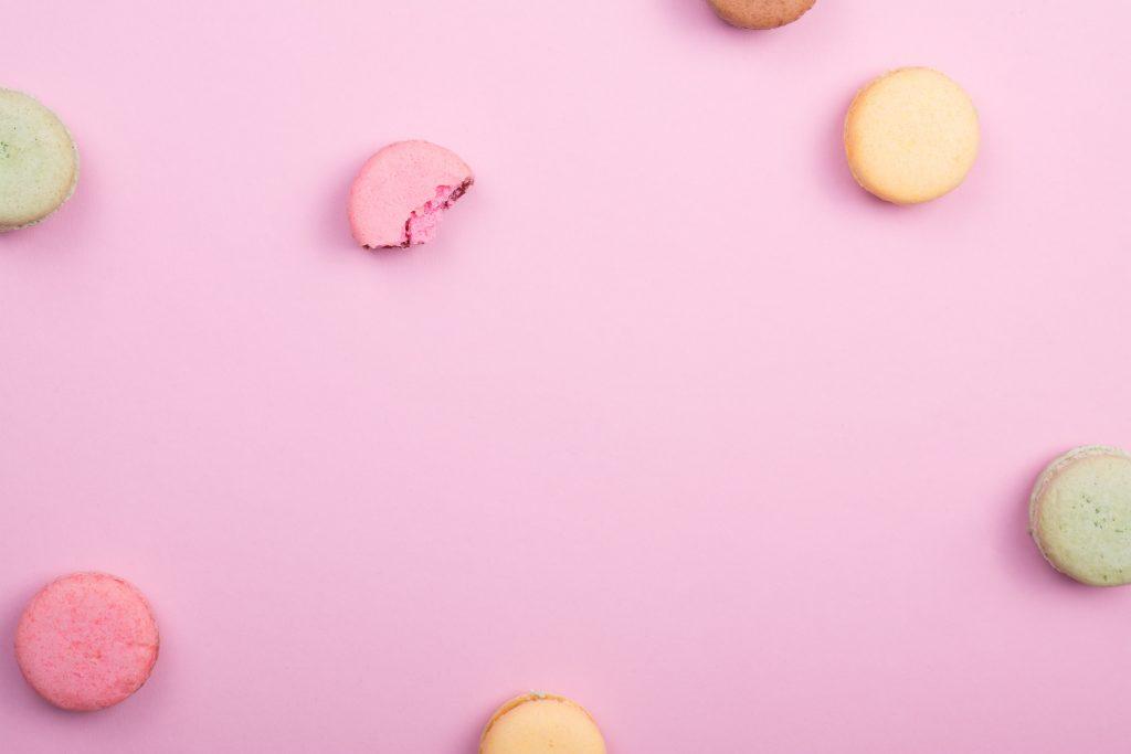non-diet, dietitian, macarons